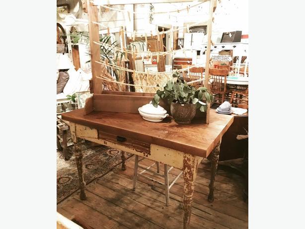Old chippy Farmhouse Table