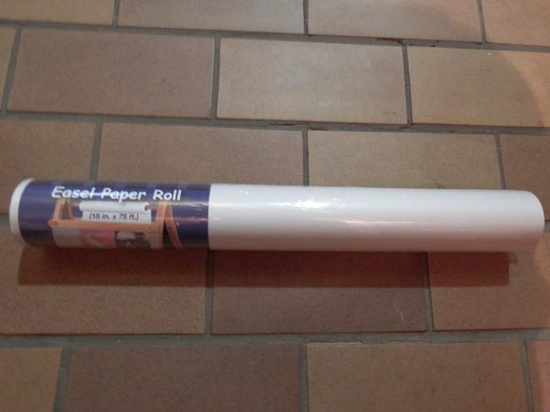 New Easel Paper Roll