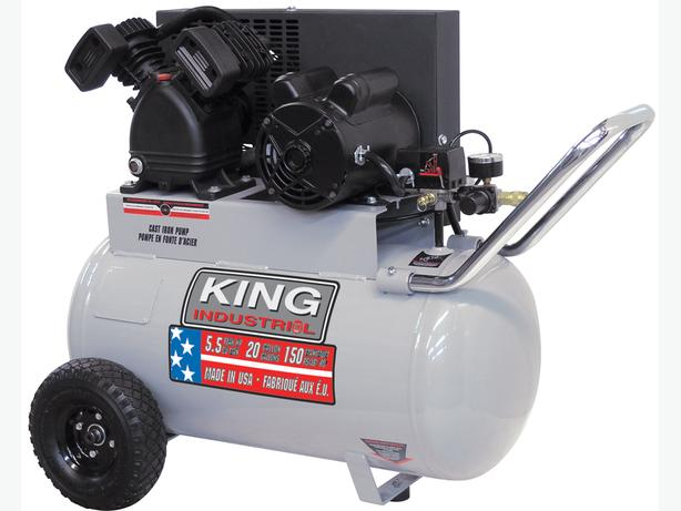 20 Gallon and 5.5 Peak HP air compressor