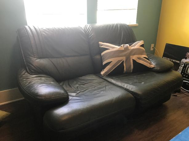 Small vinyl love seat *PRICE REDUCED*