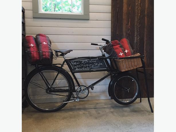 Rare vintage Raleigh butcher boy delivery bike