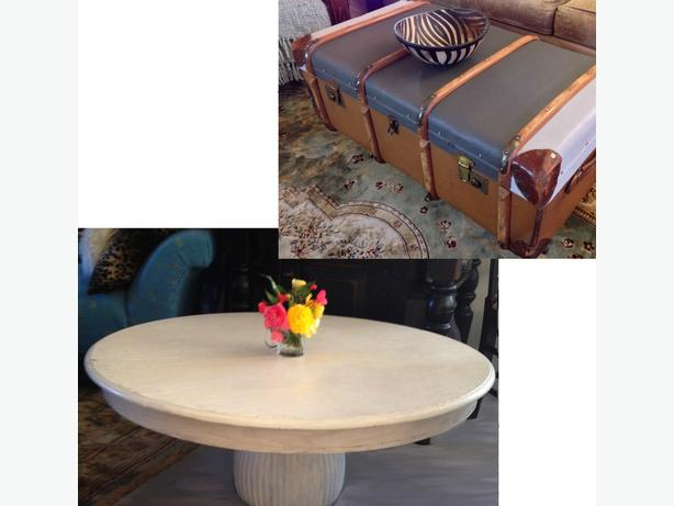 Two Unique Upcycled Coffee Tables (and MORE!)