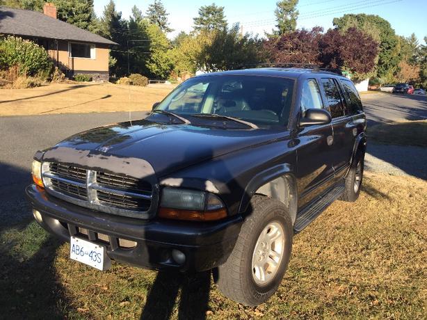 REDUCED: 2002 Dodge Durango