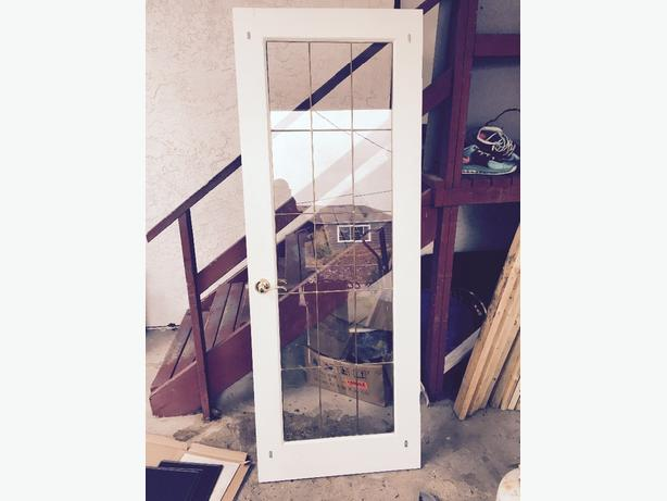great condition glass door