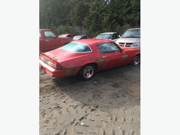 1978 79 CAMARO PARTING OUT