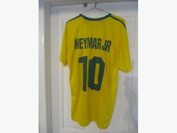 Neymar Brazil National Team Jersey. Men's XXL