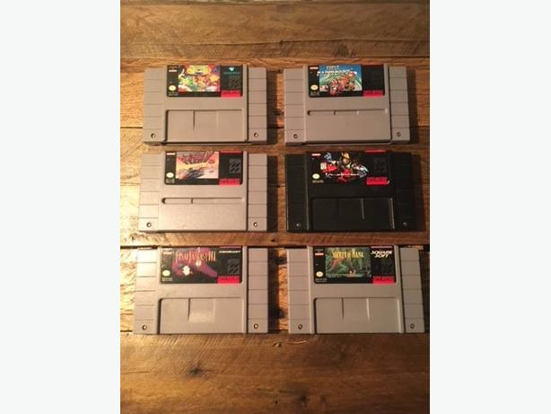 FS: Various Snes Games