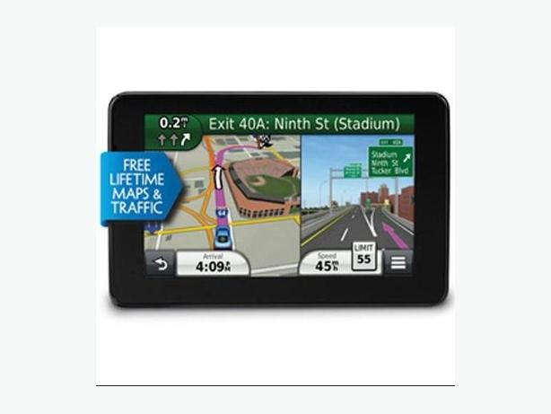 "Garmin Nuvi 3580LMT 5"" GPS with free lifetime map updates"