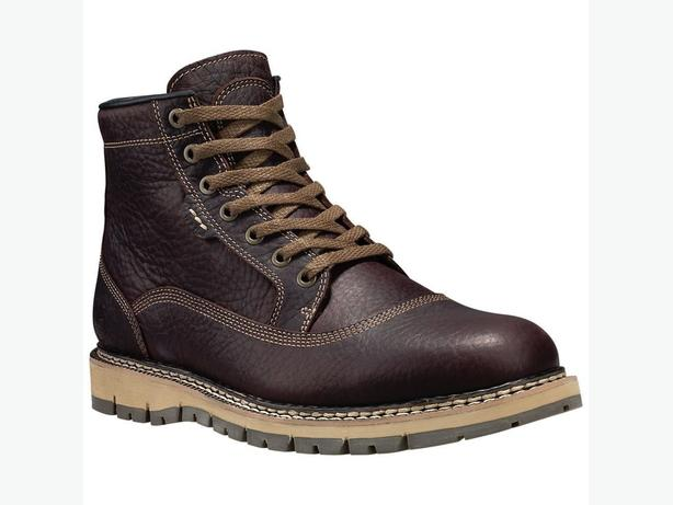New Men's Timberland Britton Hill Brown leather boots (10.5)