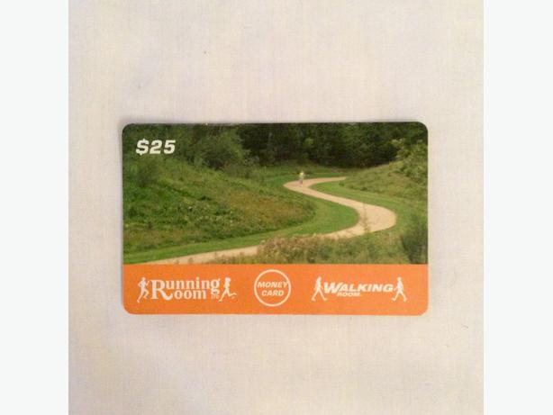 $25 Gift Card to The Running Room