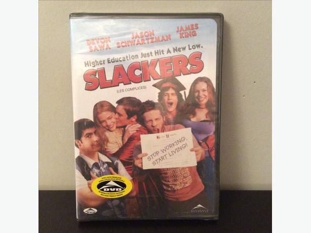 Slackers DVD, New