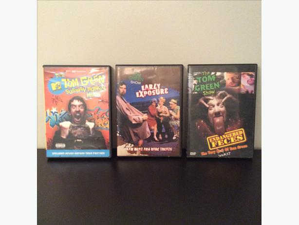 3 Tom Green Show DVDS