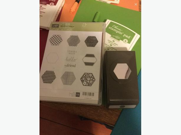 Stampin up six sided sampler stamp set and punch