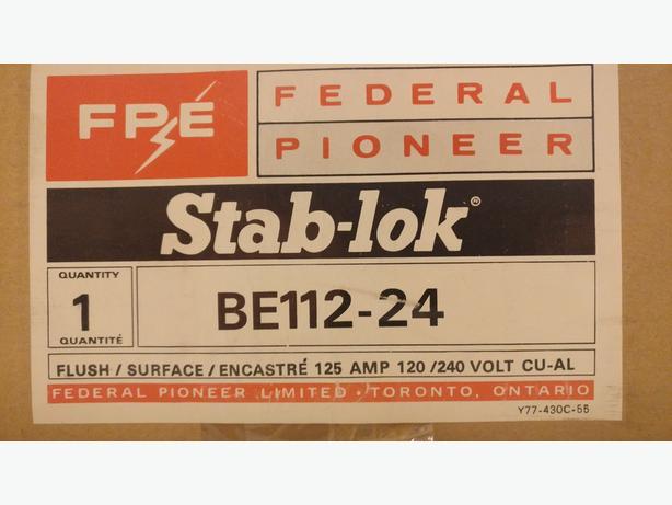 Federal Pioneer Stab-lok BE112-24 Panel