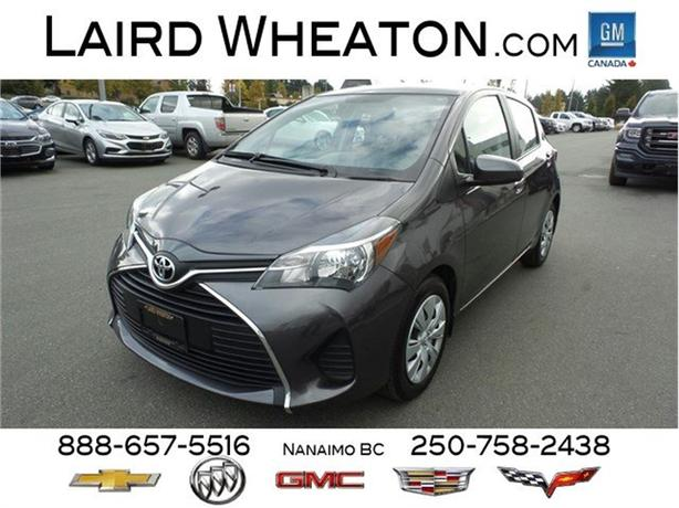 2016 Toyota Yaris LE One Owner Locally Driven Automatic