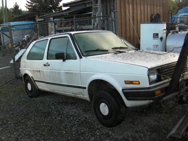 parting out 1985 vw gulf with a diesel 1.6 non turbo