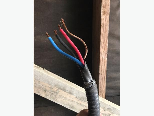 Hot tub wiring kit - 40 GFI Breaker and 80' TECK wire