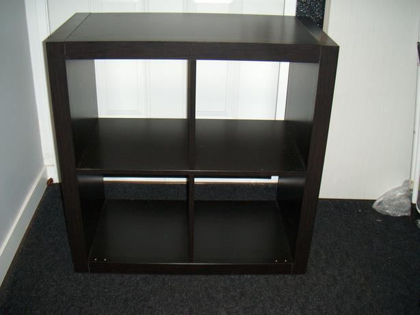Ikea 4 cube book shelf storage organizer shelf (still available if ad is up)
