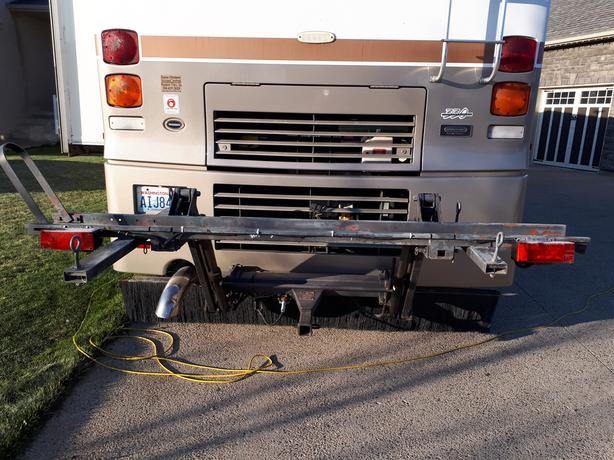 hydraulic motorcycle lift for rv