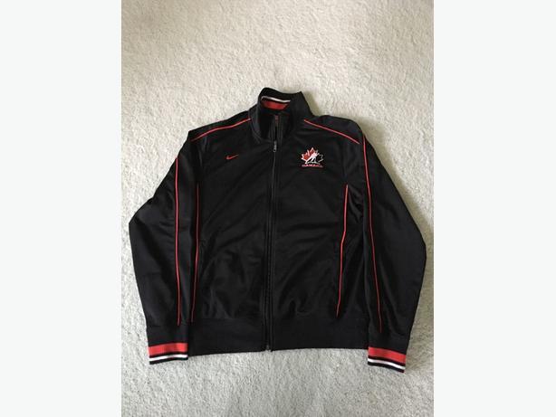 Nike - Team Canada hockey - training jacket - Mens Medium