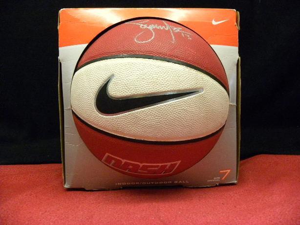 Steve Nash autographed basketball