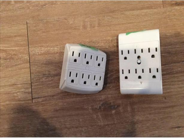 6 outlet wall adapter