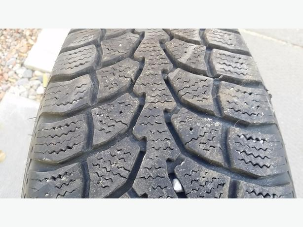 Set of 4 winter tires on rims in very good condition