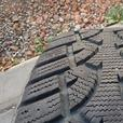 Set of 4 winter tires  in very good condition