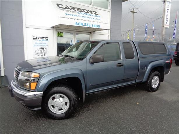 2006 GMC Canyon SLE 4x4 Off Road, Extended Cab, Canopy, Super Clean!!