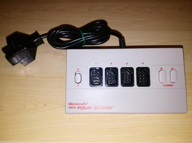 Classic Nintendo (NES) 4 Score - 4 Player Adapter