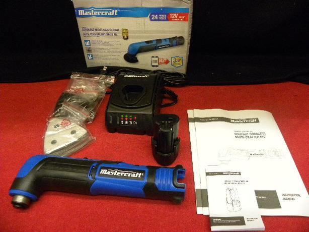 Mastercraft 24 piece 12V multi crafter kit