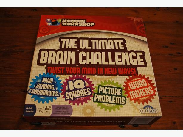 Ultimate Brain Challenge Board Game