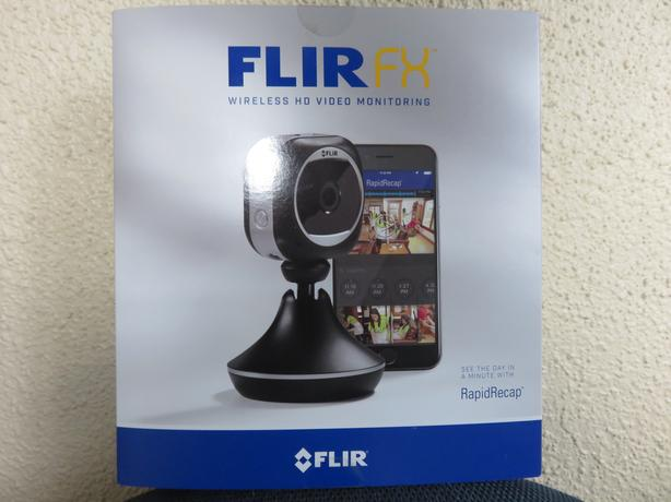 FLIR FX HD Home Security Camera w/ Wireless Wifi Monitoring