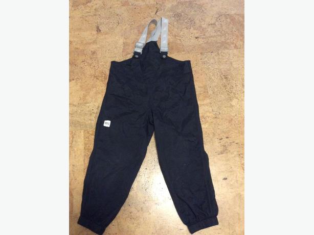 Size 5 MEC Rain Bib Pants