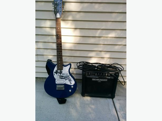Behringer Amp and First Act Guitar