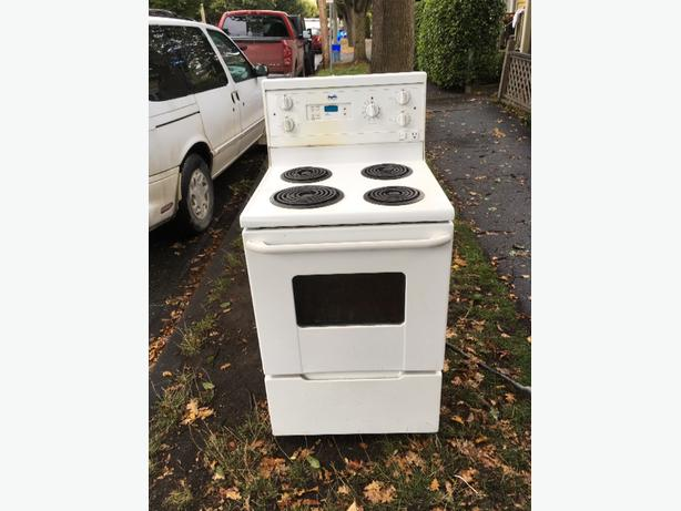 FREE: apt size 24 inch stove free
