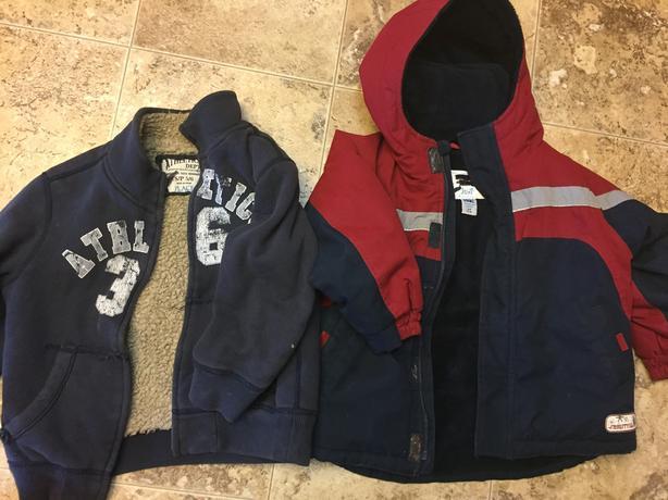 Boys fall winter coat jacket