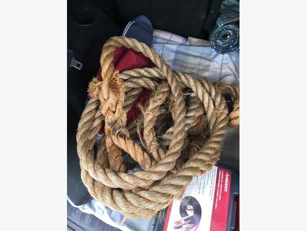 FREE: 15' climbing rope