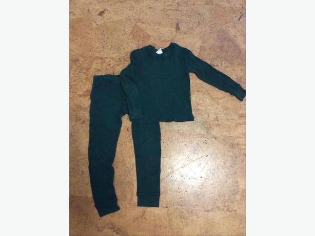 XS thermal long underwear set