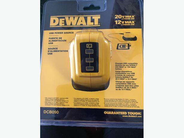 DeWalt USB Power Source