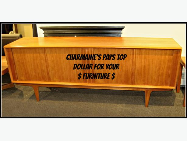 $$ CHARMAINE'S BUYS YOUR QUALITY FURNITURE $$