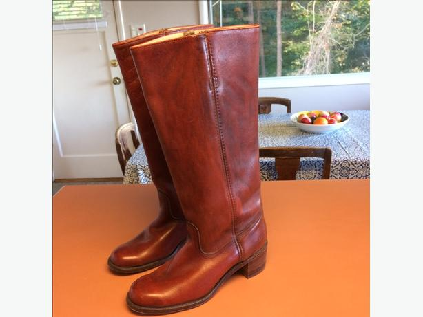Frye 6500 Leather Boots - Women's Size 10
