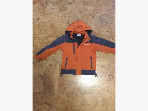 Oakiwear fleece lined raincoat - size 4/5