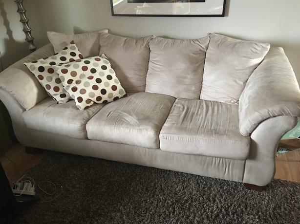 Microfibre Couch/Sofa