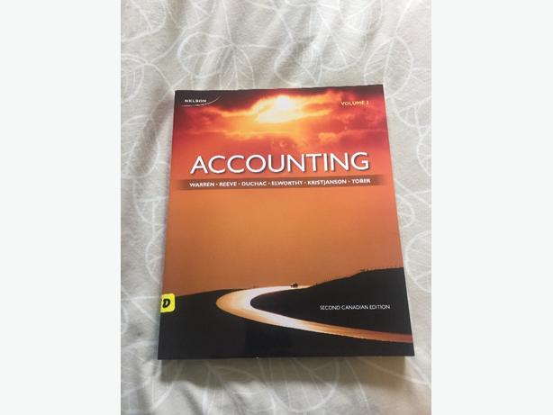 Accounting volume 2 - Warren.Reeve.Duchac.Elworthy.Kristjanson.Tober