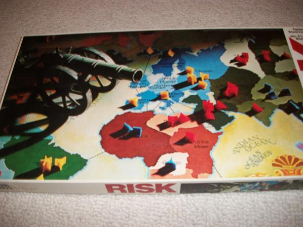 Risk - the Traditional Game with plastic pieces