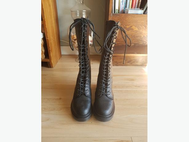 Demonia Tall Army Boots