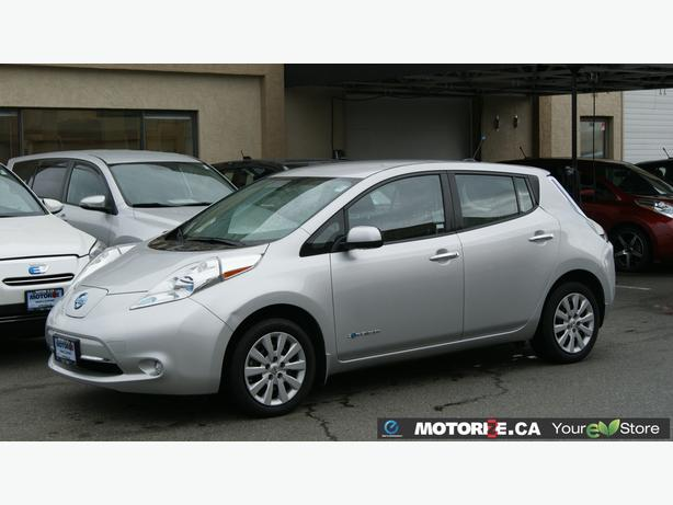 2014 Nissan LEAF S - Quick Charge Package - Backup Camera - STK#M8624