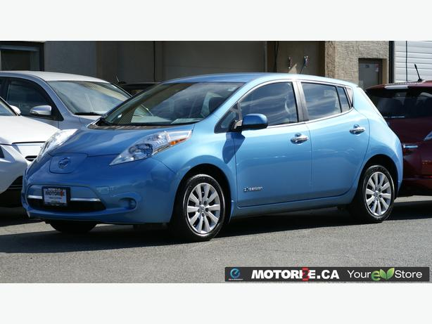 2014 Nissan LEAF S - Quick Charge Package - Backup Camera - STK#M8623