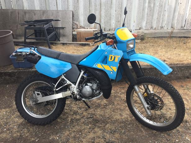 1990 Yamaha DT200 Street Legal 2-Stroke